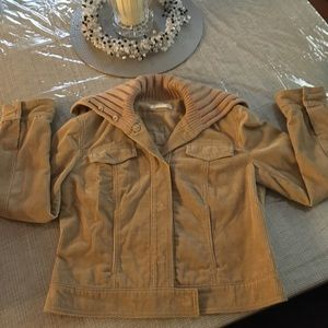 J.Crew tan corduroy jacket